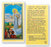 25-Pack - Prayer To Our Lady Of Medjugorje Holy Card