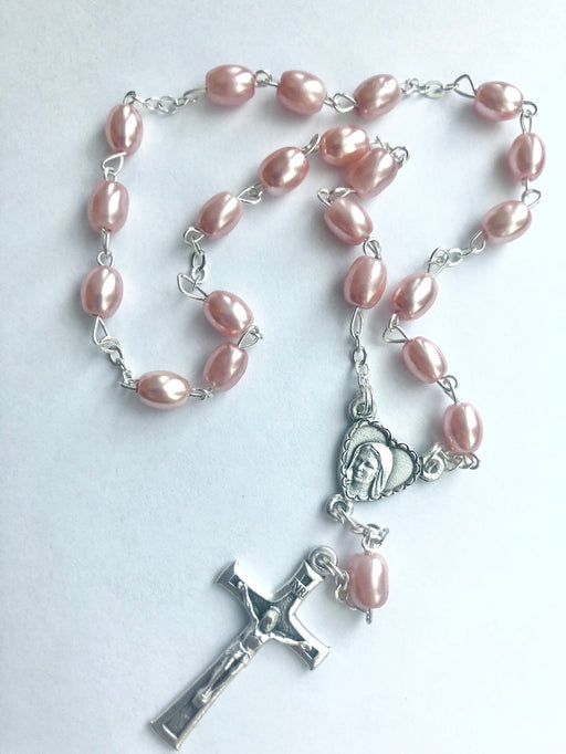 Pink Peace Rosary