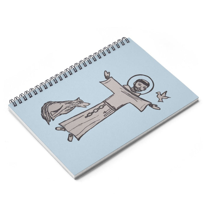 St. Francis Spiral Notebook