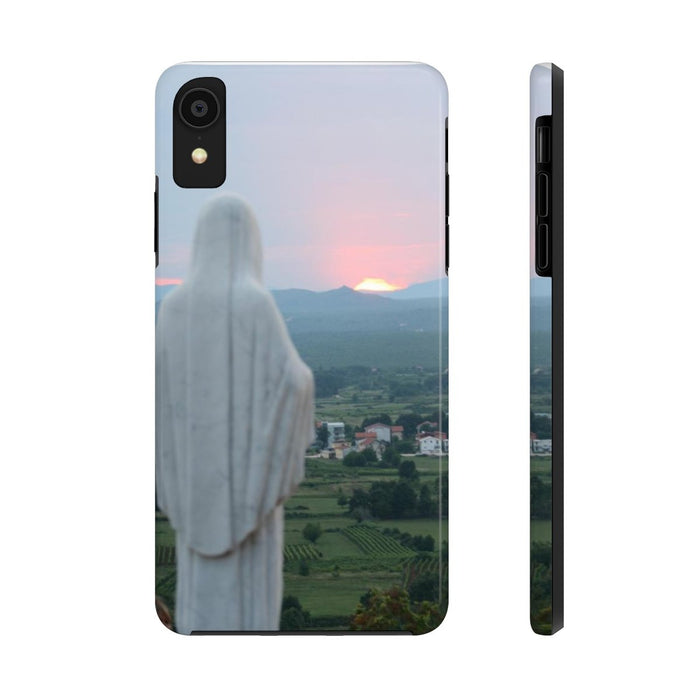 Our Mother at Sunset Phone Case