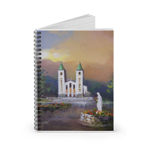 St. James Church in Medjugorje Notebook