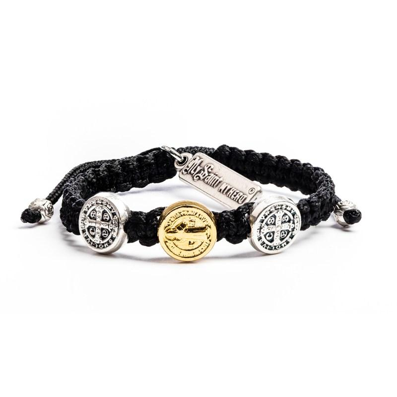 Benedictine Blessing Bracelet for Kids - Mixed Metal