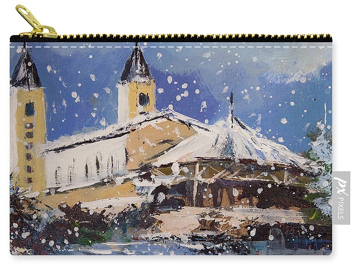 Snowy Medjugorje - Carry-All Pouch