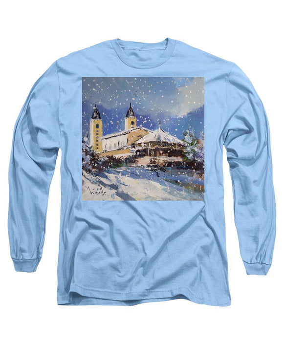 Snowy Medjugorje - Long Sleeve T-Shirt