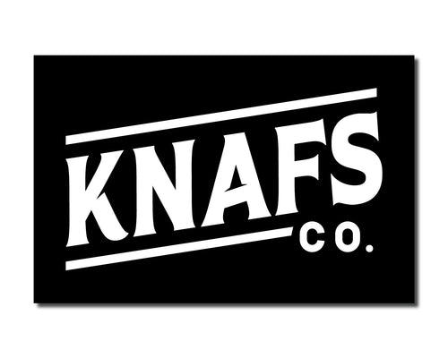 Blackout Knafs Co. Sticker