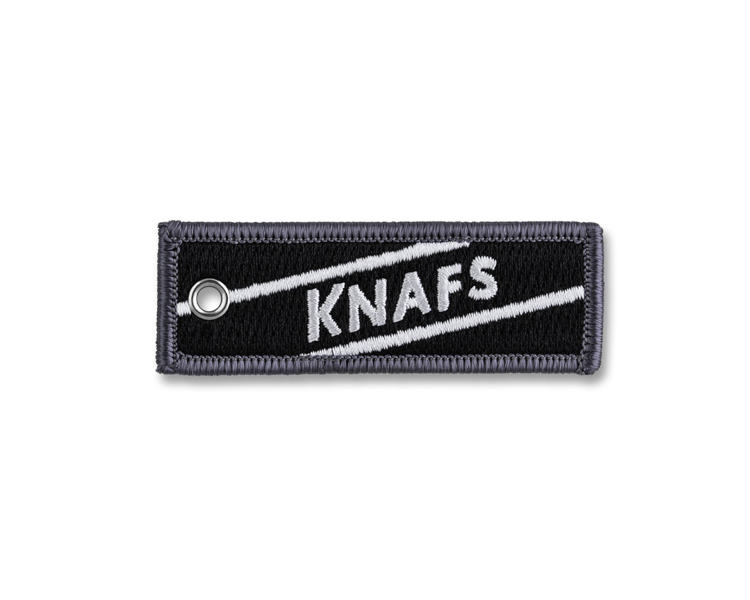 Knafs Flight Tag Ruler Keychain