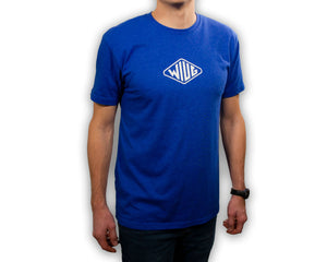 T-Shirt WIUG  - Ultra Soft - Perfect Fit in Ben Blue