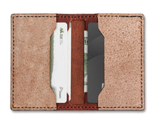 Load image into Gallery viewer, Leather Strop Wallet for Pocket Knives