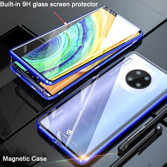 360 Full Protective Magnetic Phone Case Back Cover for Huawei Mate 30/P30/P20/Mate 20 Pro/Lite - halloladies