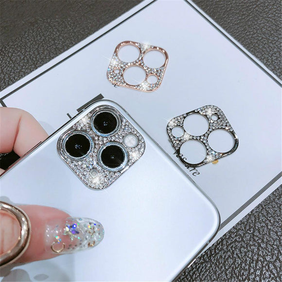 Glitter crystal Camera Protector for iPhone 11/11 Pro/11 Pro Max - halloladies