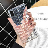 3D Glitter Laser Light Transparent Phone Case Back Cover for iPhone XS Max/XR/XS/X/8 Plus/8/7 Plus/7/6s Plus/6s/6 Plus/6 - halloladies