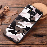 Camouflage Soft Silicone Phone Case Back Cover for Samsung Galaxy S9 Plus/S9/S8 Plus/S8/S7 Edge/S7/Note 9/Note 8 - halloladies