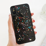 Glitter Bling Shining Sequin Phone Case Back Cover for iPhone XS Max/XR/XS/X/8 Plus/8/7 Plus/7/6s Plus/6s/6 Plus/6 - halloladies