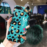 Green Leopard Wrist Band Soft Silicone TPU Phone Case Back Cover for iPhone XS Max/XR/XS/X/8 Plus/8/7 Plus/7/6s Plus/6s/6 Plus/6 - halloladies