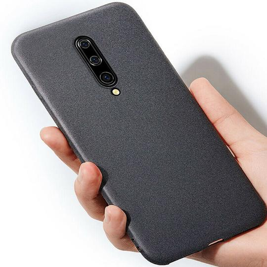 Ultra Thin Sandstone Matte Soft Silicone Phone Case Back Cover for OnePlus 7 Pro/7/6T/6 - halloladies