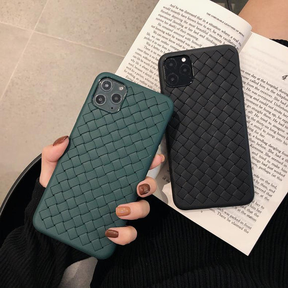 Breathable Mesh Grid Solid Color Soft Phone Case Back Cover for iPhone 12 Pro Max/12 Pro/12/12 Mini/SE/11 Pro Max/11 Pro/11/XS Max/XR/XS/X/8 Plus/8 - halloladies