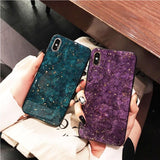 Luxury Gold Foil Marble Phone Case Back Cover - VIVO X and Y Series - halloladies