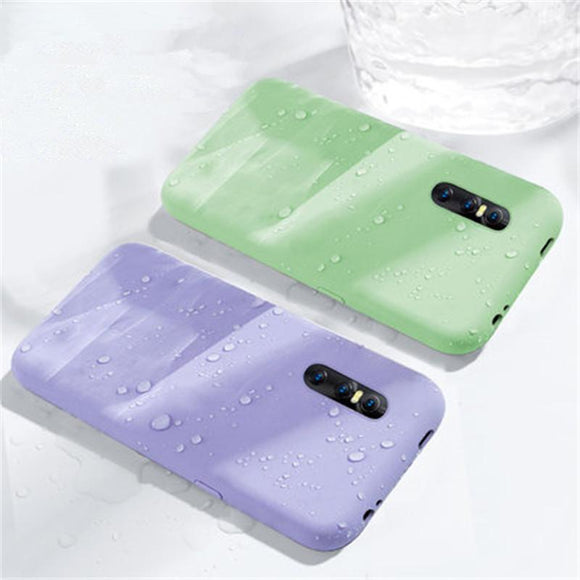 Cute Candy Color Phone Case Back Cover - VIVO X and Y Series - halloladies