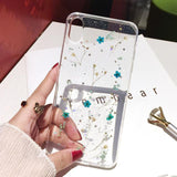 Transparent Real Dried Flower Phone Case Back Cover - iPhone 11 Pro Max/11 Pro/11/XS Max/XS/XR/X/8 Plus/8/7 Plus/7/6s Plus/6s/6 Plus/6 - halloladies
