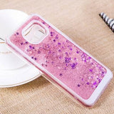Glitter Star Dynamic Liquid Quicksand Phone Case Back Cover - Samsung Galaxy S9 Plus/S9/S8 Plus/S8/S7 Edge/S7/S6 Edge/S6 - halloladies