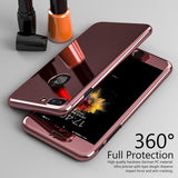 Luxury Transparent Full Body 360 Degree Temper Glass Screen Protector Phone Case Back Cover for iPhone 12 Pro Max/12 Pro/12/12 Mini/SE/11 Pro Max/11 Pro/11/XS Max/XR/XS/X/8 Plus/8 - halloladies