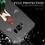 Fashion Beautiful Dress Silicone Phone Case Back Cover - Samsung Galaxy S9 Plus/S9/S8 Plus/S8 - halloladies