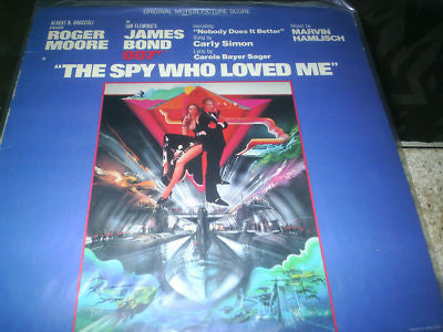 Original Motion Picture Score The Spy Who Loved Me