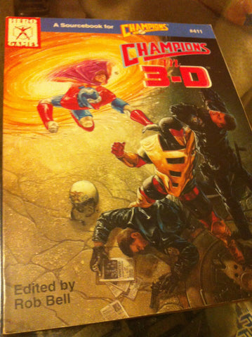 Champions in 3-D (1990, Paperback)