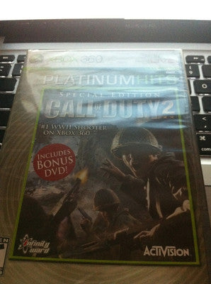 Call of Duty 2 Special Edition  (XBOX 360 2005)