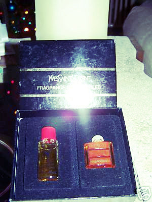 Original Yves Saint Laurent Opium parfum set