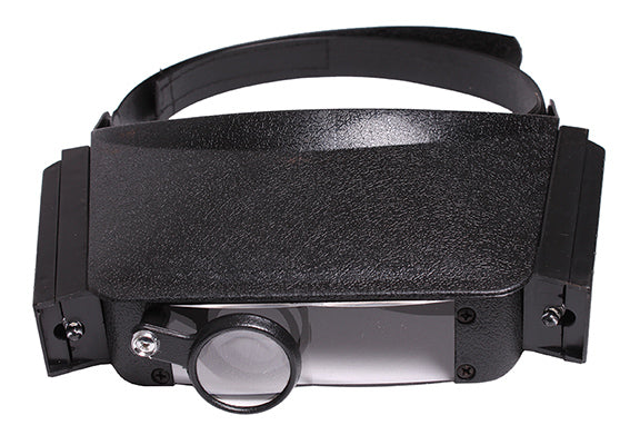 Cap Style Hands Free Magnifier with LED