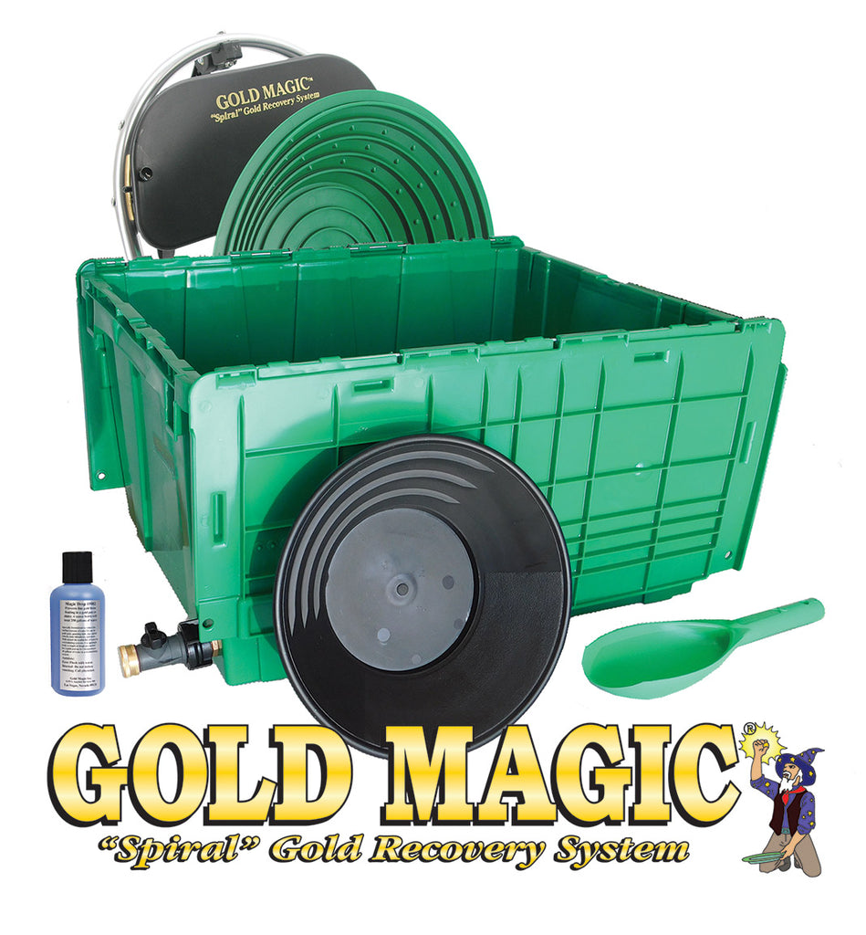 Gold Magic 12E Spiral Panning Machine Kit