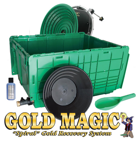 Gold Magic 12-10 Spiral Panning Machine Kit