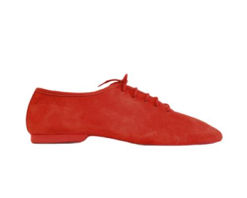 Red Jazz Dance Shoes (Model 550 Red Suede)