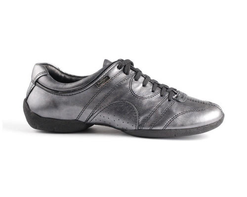 PD Casual Black Silver Leather