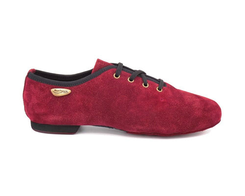 PD J001 Bordeaux Wildleder Salsa Jazz - Unisex