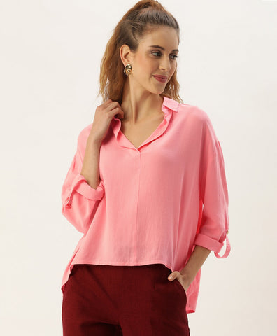 POPOVER SOLID SHIRT