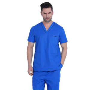 Mens top and bottom scrub set
