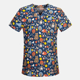 Fashion Women Short Sleeve Sugery Top
