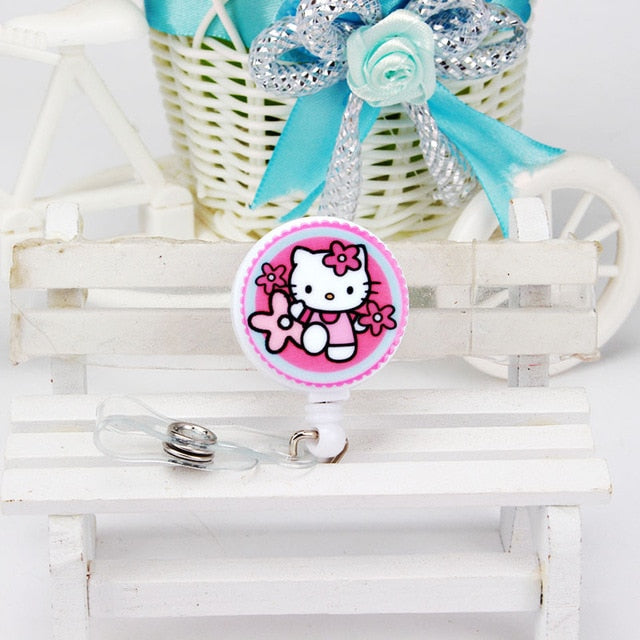 Assorted Hello Kitty badge holder