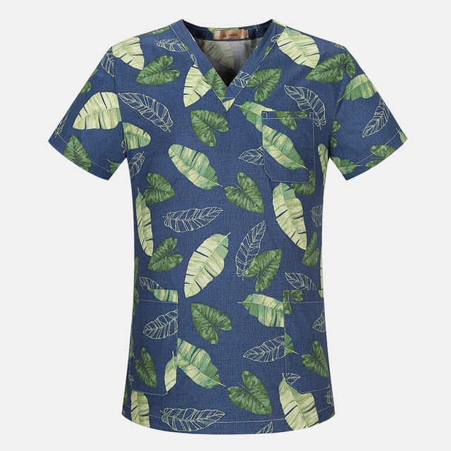 Breathable Nurse Scrub Top