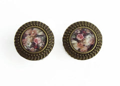 vintage rose pattern Plugs #401