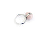Rose Quarz Crystal Ring #431 - Fux Jewellery