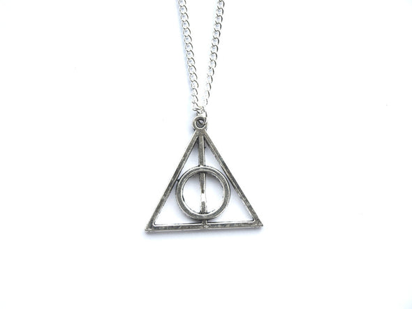 Silver HP Necklace #N45 - Fux Jewellery