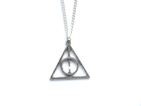 silver HP Necklace #385-2