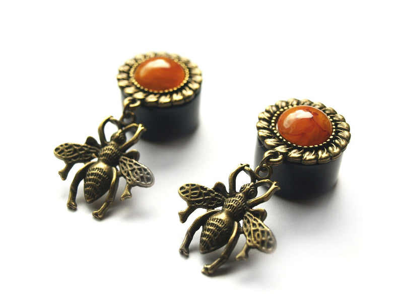 Honey Bee Plugs #320 - Fux Jewellery