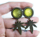 green Weed Plugs #420 - Fux Jewellery