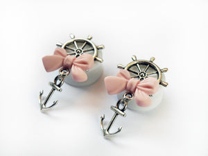 Silver Sailor Bow Plugs