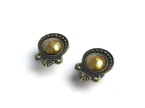 bronze teardrop Plugs #353