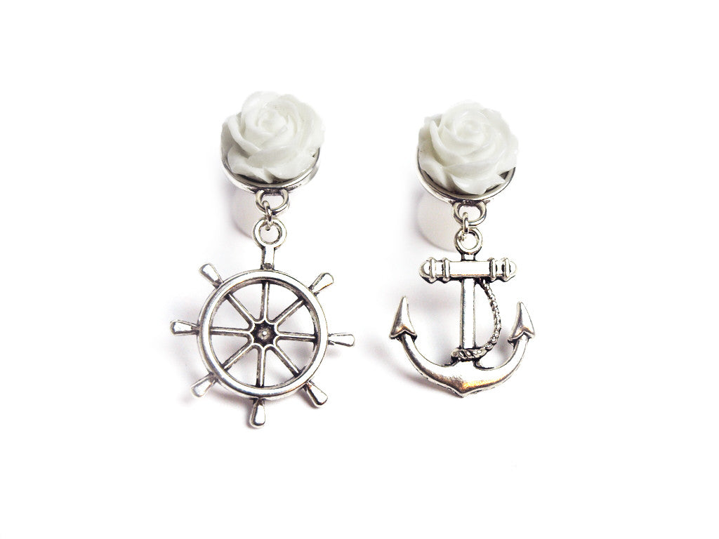 "white ""Sailor Mix"" Plugs #350"